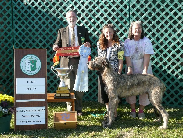 Best Puppy in Specialty - Cnoccarne Tinnakillagh